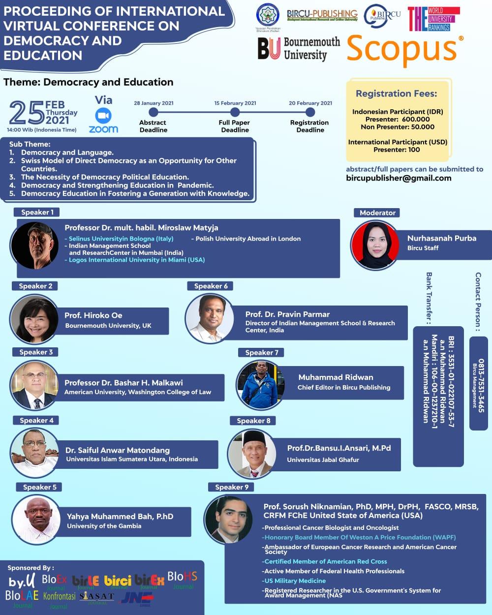 seminar international